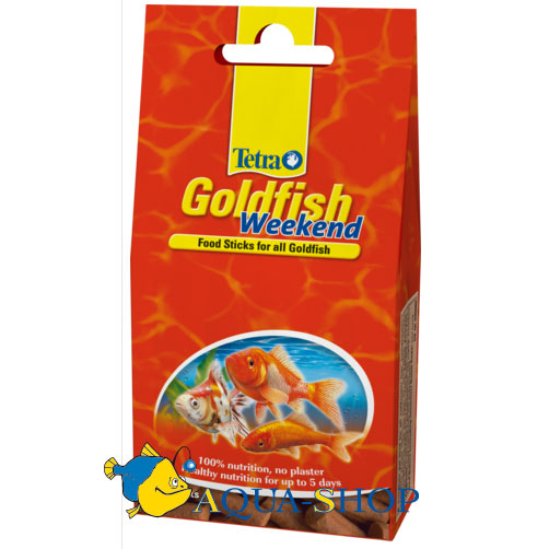 Корм для рыб Tetra Goldfish Weekend, 10 шт