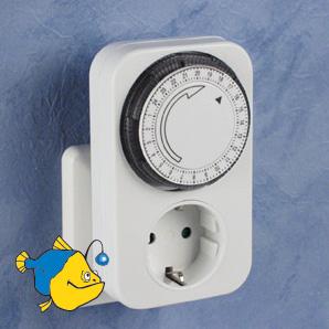 для включения и выключения освещения и вентиляции для Туласи существуют такие штуки таймер-реле времени...