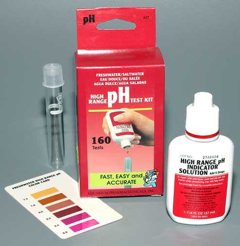 ���� �� ����������� (pH) 7.2-8.8 AQUARIUM PHARMACEUTICALS pH Test Kit
