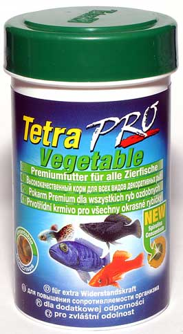 Корм для рыб TetraPro Vegetable Crisps, 500 мл