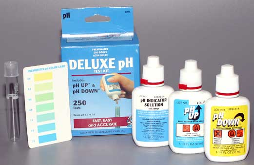 Тест на кислотность (рН) AQUARIUM PHARMACEUTICALS Deluxe pH Test Kit