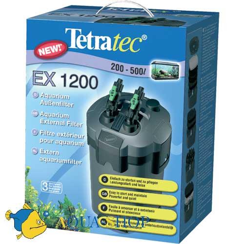 Внешний фильтр tetratec external ex 1200 plus - это инновационный