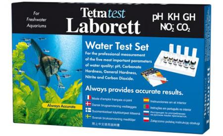 Набор тестов TETRA Laborett ( pH / KH / GH / NO2 / CO2 )