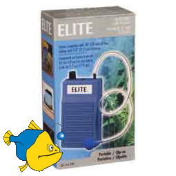 Компрессор HAGEN Elite Battery Operated Air Pump, на батарейках