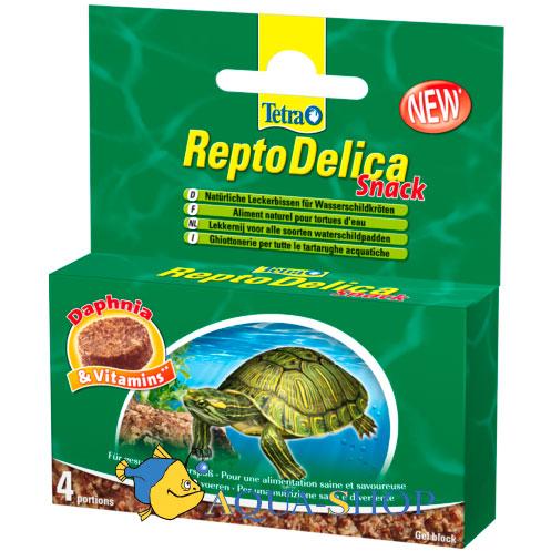 Корм для черепах tetra reptodelica snack 4х12 гр