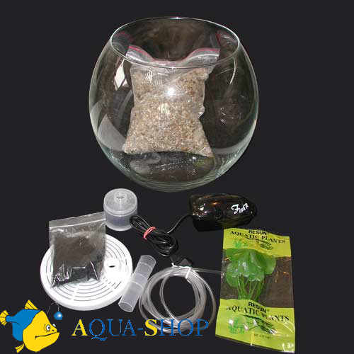 Аквариум Aquael Gold FISH 30, 13 л, d=30 см