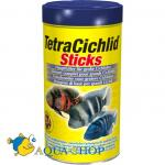 Корм для рыб TetraCichlid Sticks, гранулы, 1000 мл