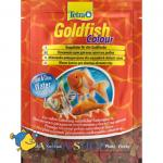 Корм для рыб Tetra Goldfish Colour, хлопья пакет, 12г
