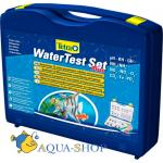 Набор тестов TETRA Water Test Set Plus pH/KH/GH/NH3/NH4/NO2/NO3/O2/CO2/Fe/PO4, в чемоданчике