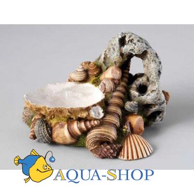 Грот для аквариума из ракушек своими руками 63