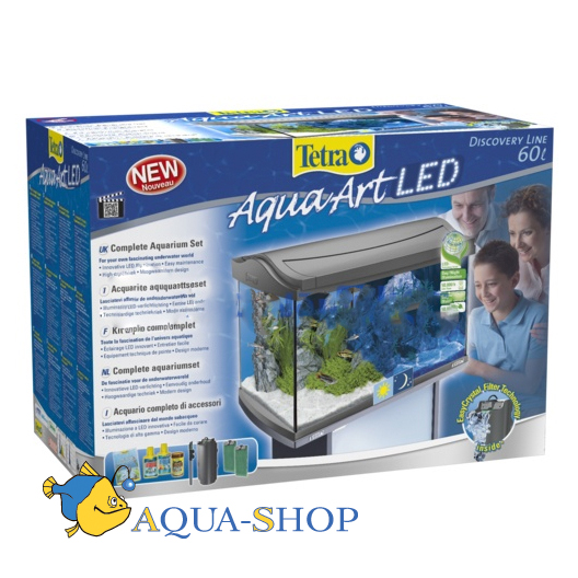 Аквариум Tetra AquaArt LED Tropical, 60 л