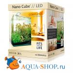 Аквариум Dennerle Nano Cube Complete Plus Nano Power LED, 30л