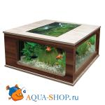 Аквариум AQUATLANTIS AQUATABLE 130, дуб отб./орех, 130х75х57 см, 300л