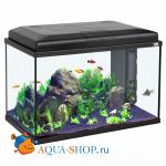 Аквариум AQUATLANTIS START 55, черный, 55х30х34.8см, 55л