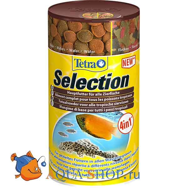 Корм для рыб Tetra Selection 100мл