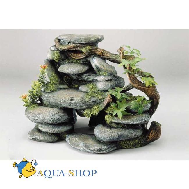 Аквариумный камень своими руками