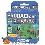 Тест на рН PRODAC test pH 4.5-9.0 для пресной и морской воды 130 измерений