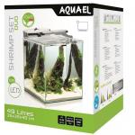 Аквариум Aquael Shrimp Set DUO LED 49 л белый 35*35*40 см